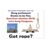 Hung Congress Postcards (Package of 8)