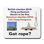 Hung Congress Mousepad