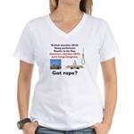 Hung Congress Women's V-Neck T-Shirt