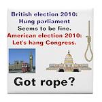 Hung Congress Tile Coaster