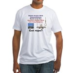 Hung Congress Fitted T-Shirt