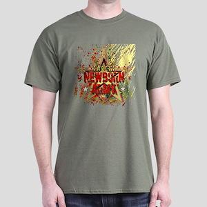 Newborn Army by Twibaby Dark T-Shirt