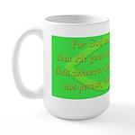 Bible Verse (John 3:16) Large Mug
