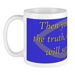 Bible Verse (John 8:32) Mug