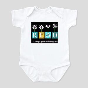Read - It helps your mind gro Infant Bodysuit