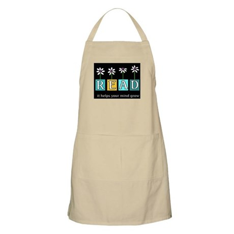 Read - It helps your mind gro Apron