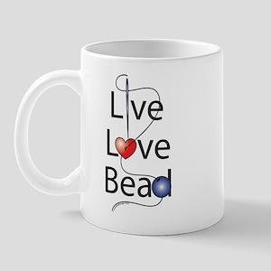 Live,Love,Bead Mug