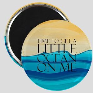 Ocean Time Magnet