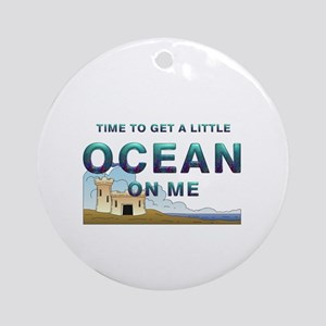 Ocean Time Ornament (Round)