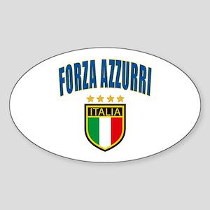 Forza Italia Sticker (Oval)