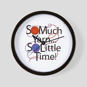 So Much Yarn..... Wall Clock