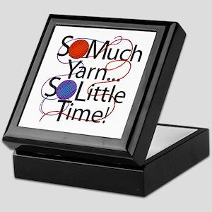 So Much Yarn..... Keepsake Box