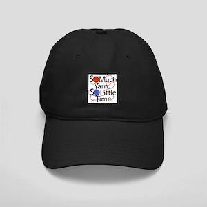 So Much Yarn..... Black Cap
