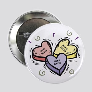 Customizable Candy Hearts Button