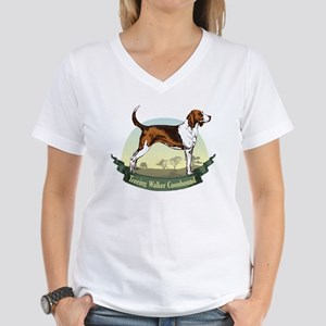 Treeing Walker Coonhound: Banner Series Women's V-