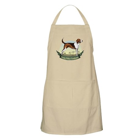 Treeing Walker Coonhound: Banner Series Apron
