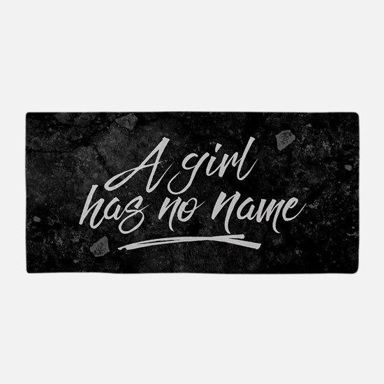 GOT A Girl Has No Name Beach Towel