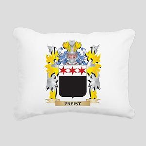Preist Family Crest - Co Rectangular Canvas Pillow