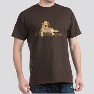 Golden Retriever Painted Dark T-Shirt