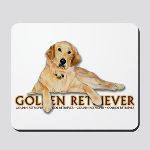 Golden Retriever Painted Mousepad