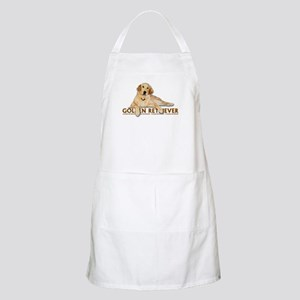 Golden Retriever Painted Apron