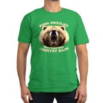 Mama Grizzlies Men's Fitted T-Shirt (dark)