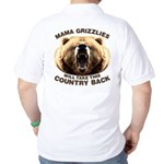 Mama Grizzlies Golf Shirt