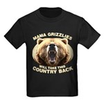 Mama Grizzlies Kids Dark T-Shirt