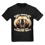 Mama Grizzlies Kids Dark T-Shirt