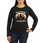 Mama Grizzlies Women's Long Sleeve Dark T-Shirt