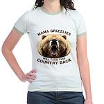 Mama Grizzlies Jr. Ringer T-Shirt