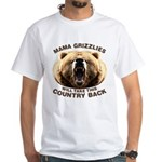 Mama Grizzlies White T-Shirt