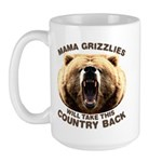 Mama Grizzlies Large Mug