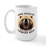 Mama Grizzlies Large Mug