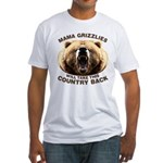 Mama Grizzlies Fitted T-Shirt