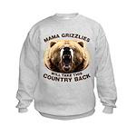 Mama Grizzlies Kids Sweatshirt