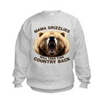 Mama Grizzlies Kids Sweatshirt