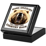 Mama Grizzlies Keepsake Box