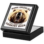 Mama Grizzlies Keepsake Box