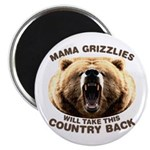 Mama Grizzlies Magnet