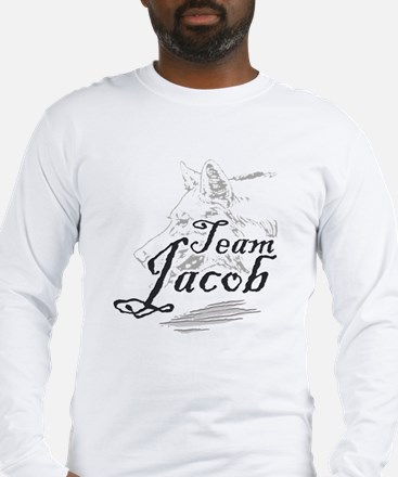 Team Jacob Werewolf Long Sleeve T-Shirt