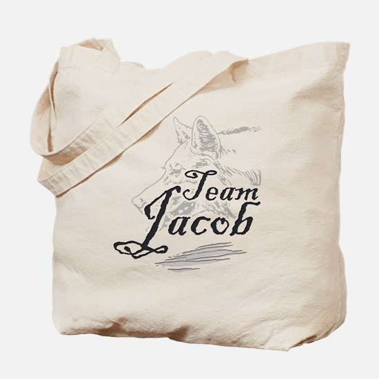 Team Jacob Werewolf Tote Bag