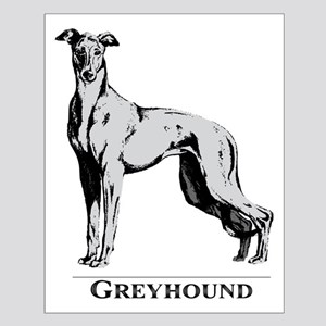 Graphic Greyhound Small Poster