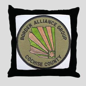 Cochise County Border Alliance Throw Pillow