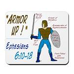 Full Armor of God Mousepad