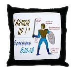 Full Armor of God Throw Pillow