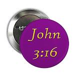 Bible Verse (John 3:16) Button