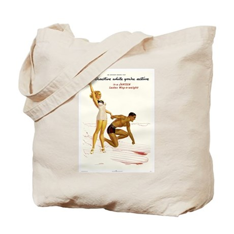 Attractive While Active Tote Bag