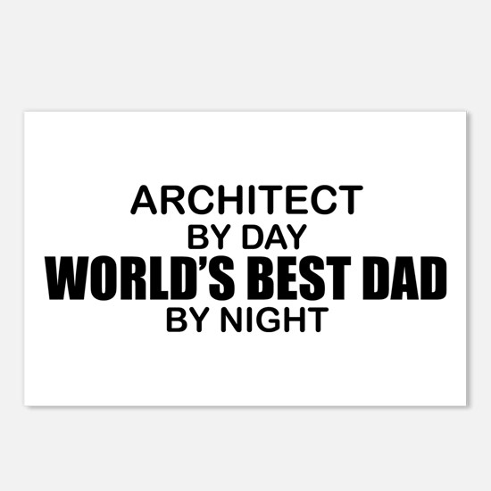 World's Greatest Dad - Architect Postcards (Packag