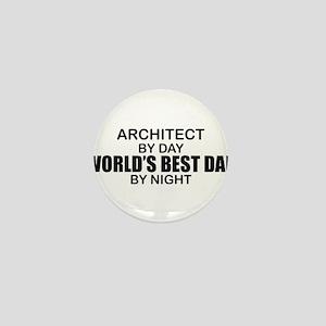World's Greatest Dad - Architect Mini Button